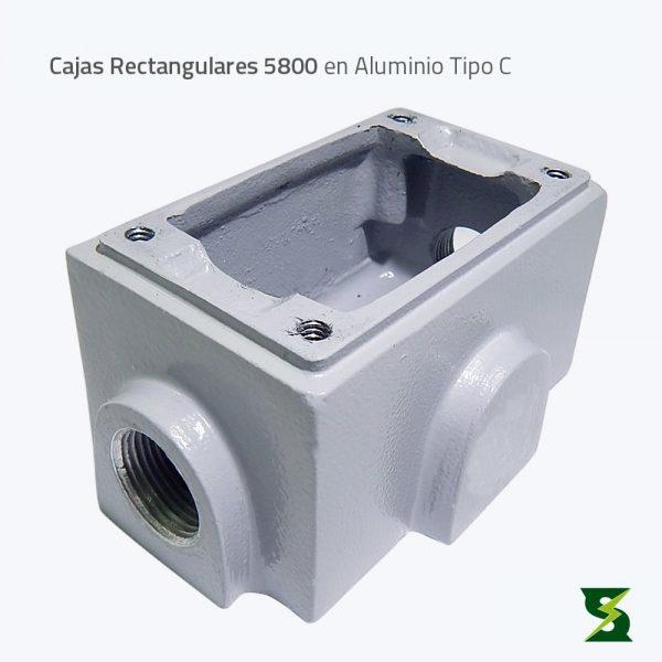Cajas Rectangulares 5800 soldexel nema 4 nema 4x Nema 3 a prueba de intemperie a prueba de polvo