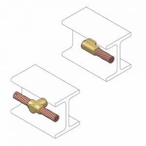 molde cable a riel