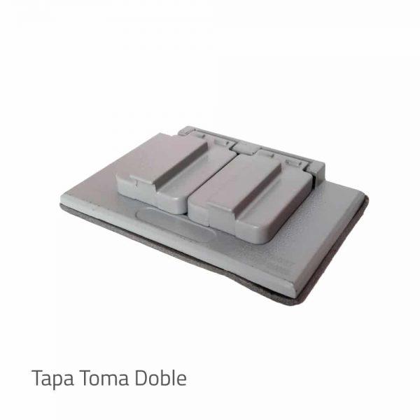 Tapara-para-caja-inyectada-5800-nema4 toma doble