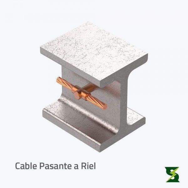 cable terminal a riel sistema puesta a tierra soldexel
