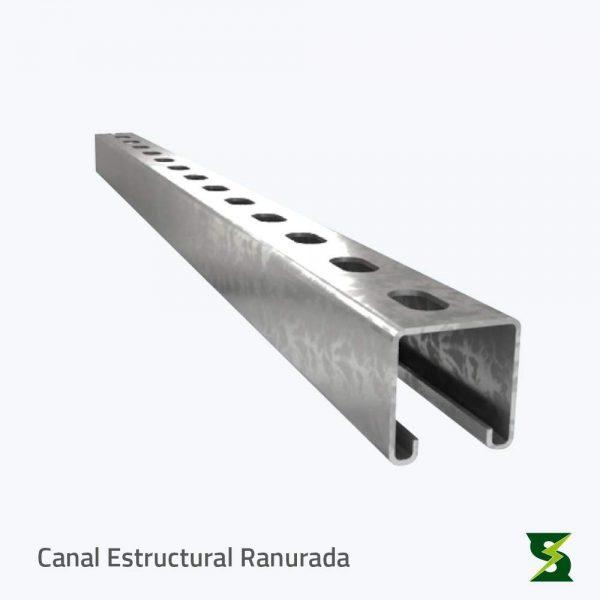 canal estructural ranurada soldexel