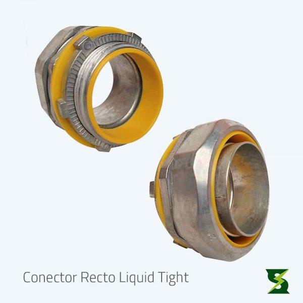 conector liquid tight recto