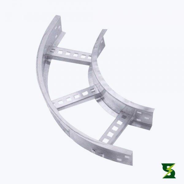 curva horizontal bandeja portacable soldexel