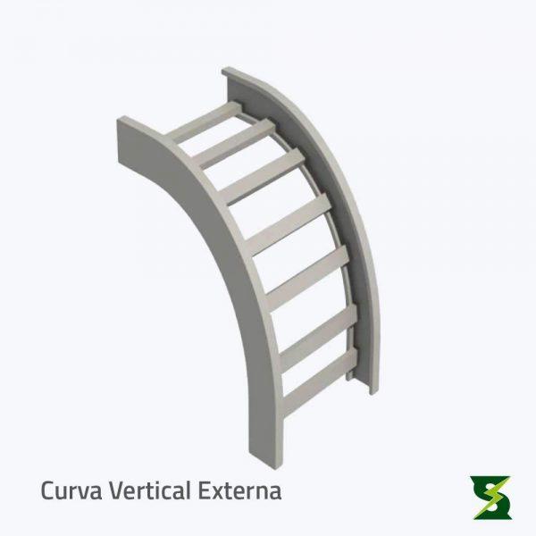 curva vertical externa