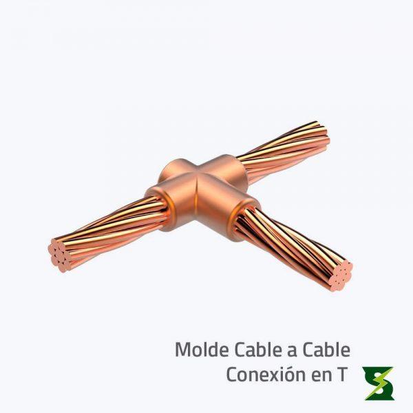 molde cable a cable sistema puesta a tierra soldexel