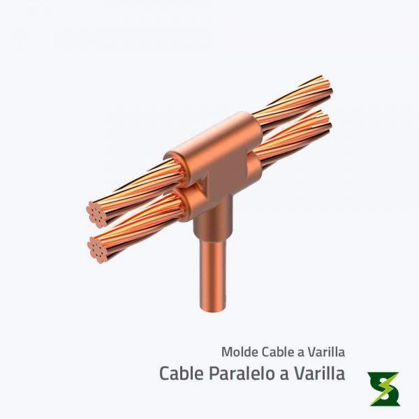 molde cable a varilla sistema puesta a tierra soldexel