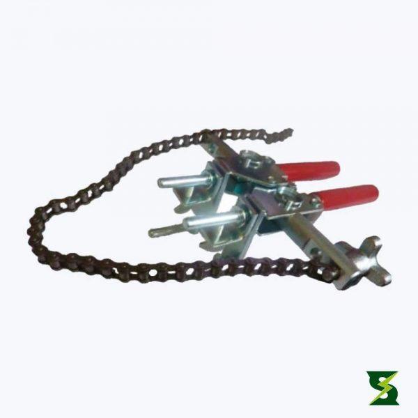pinza universal con cadena sistema puesta a tierra soldexel
