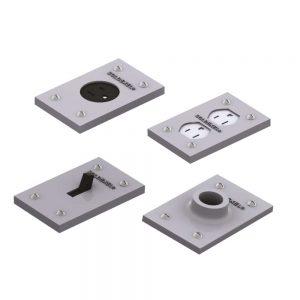 tapa para caja rectangular 5800