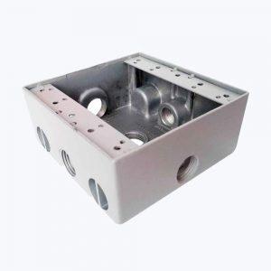 Caja Cuadrada Inyeccion Aluminio 2400
