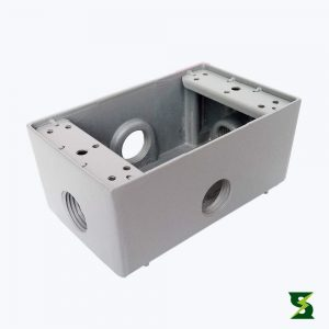 Cajas Rectangulares 5800 en Aluminio soldexel nema 4 nema 4x Nema 3 a prueba de intemperie a prueba de polvo