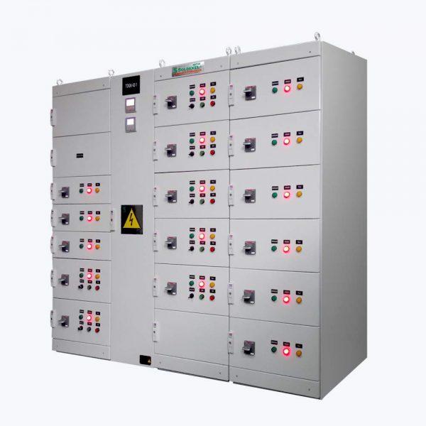 tablero de control industrial