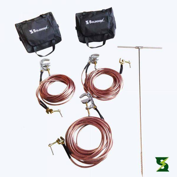 Kit sistema puesta a tierra alta tension
